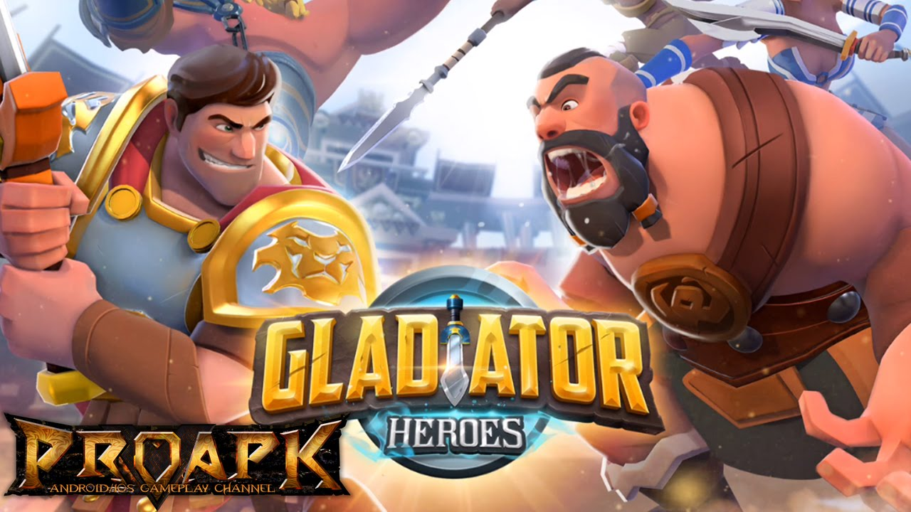 Gladiator Heroes Clash Android 14000 Diamonds + Random Bonus, ONLY $35