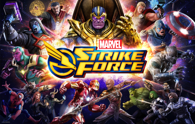 Marvel Strike Force: 8630 Power Cores + Random Bonus, ONLY $35