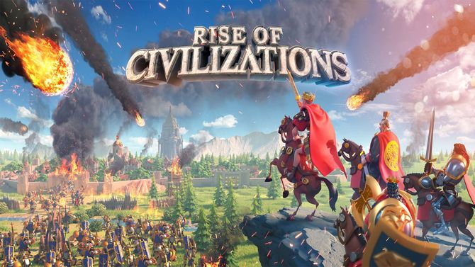 Rise of Civilizations 25000 Gems + Random Bonus, ONLY $60