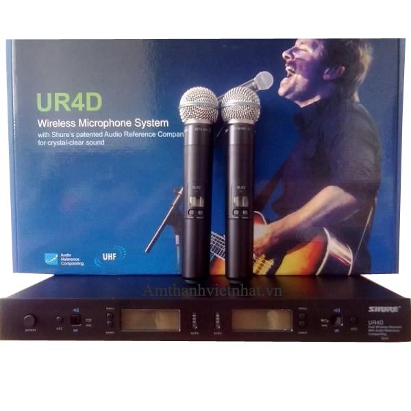 Mic không dây Shure UR4D