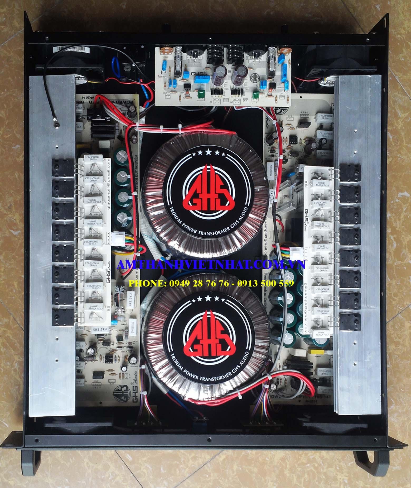 Cục đẩy công suất VE GHS Model GS482XD
