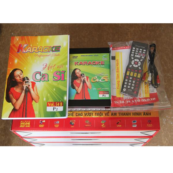 Đầu karaoke 6 số Calisonic MD-8203