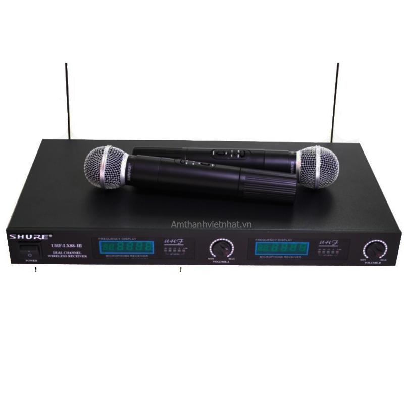 Mic không dây SHURE LX88-III Dynamic Wireless System
