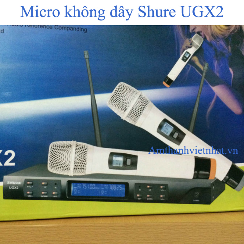 Mic không dây Shure UGX2