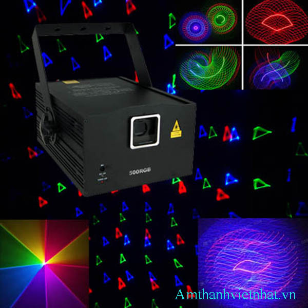 Đèn lazer MAXIM U 500RGB+