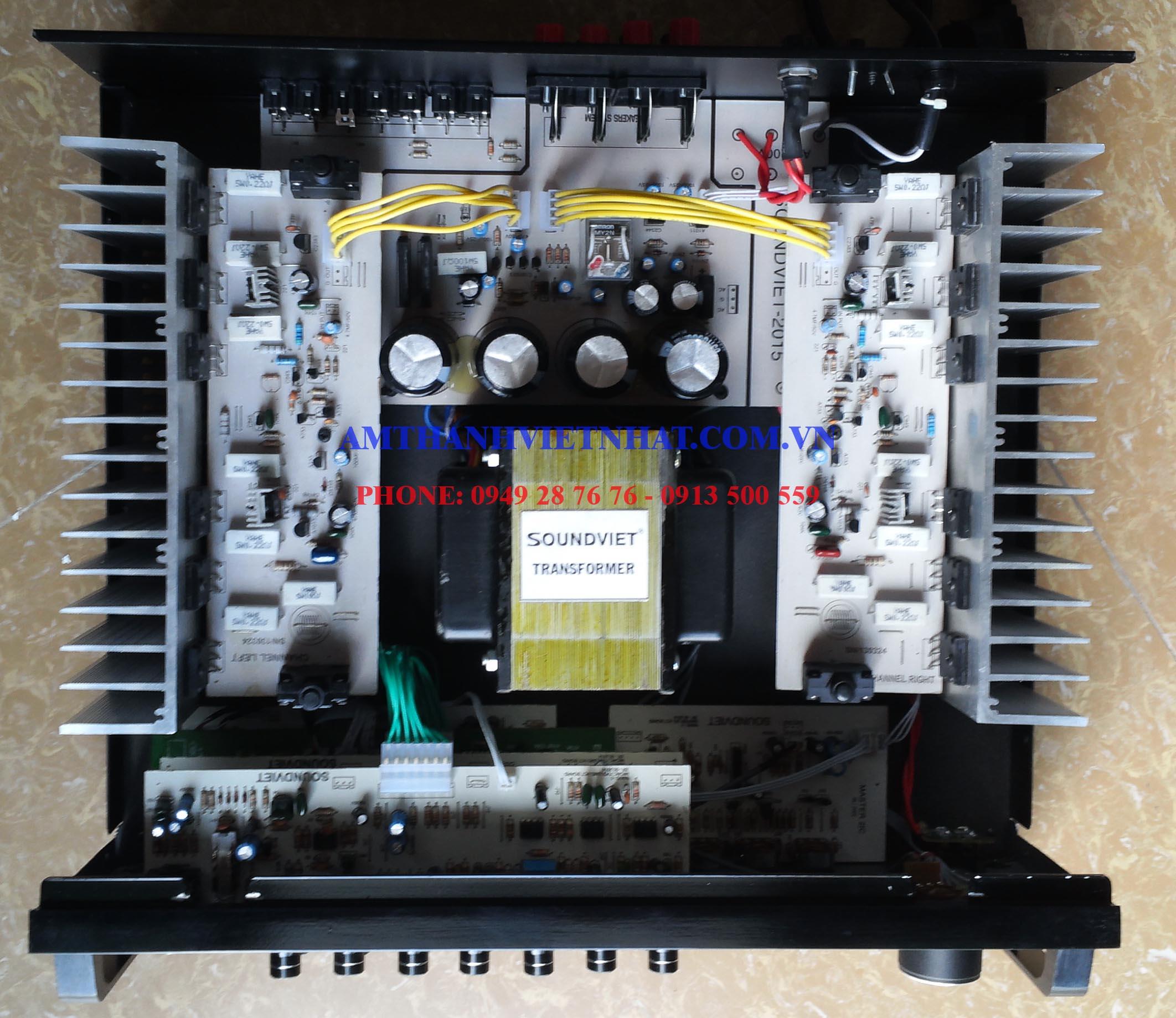 Ampli VE audio SU 800i