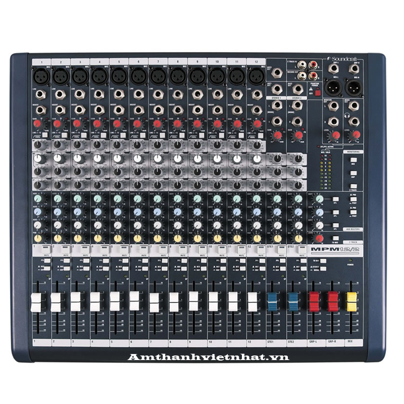 Bàn mixer Soundcraft MPMi12