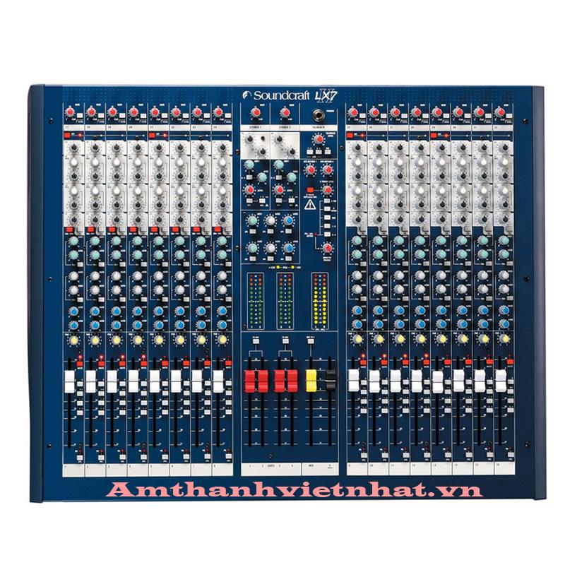 Bàn mixer Soundcraft LX7ii16