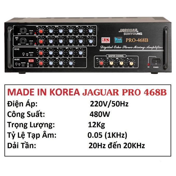 Amply Jarguar Pro 468B