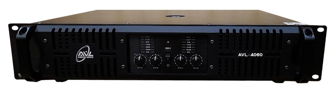 Bộ khuếch đại liền công suất (Model: AVL 4060)