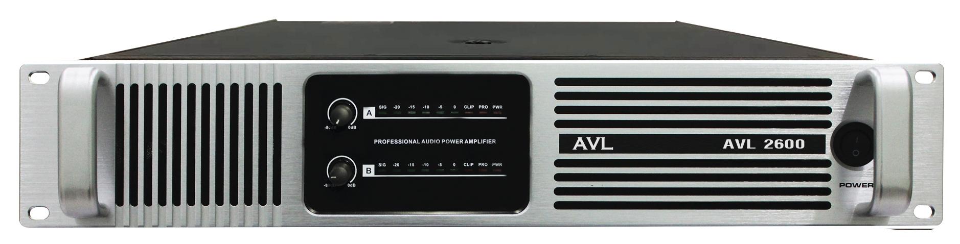 Bộ khuếch đại liền công suất  AVL 2600