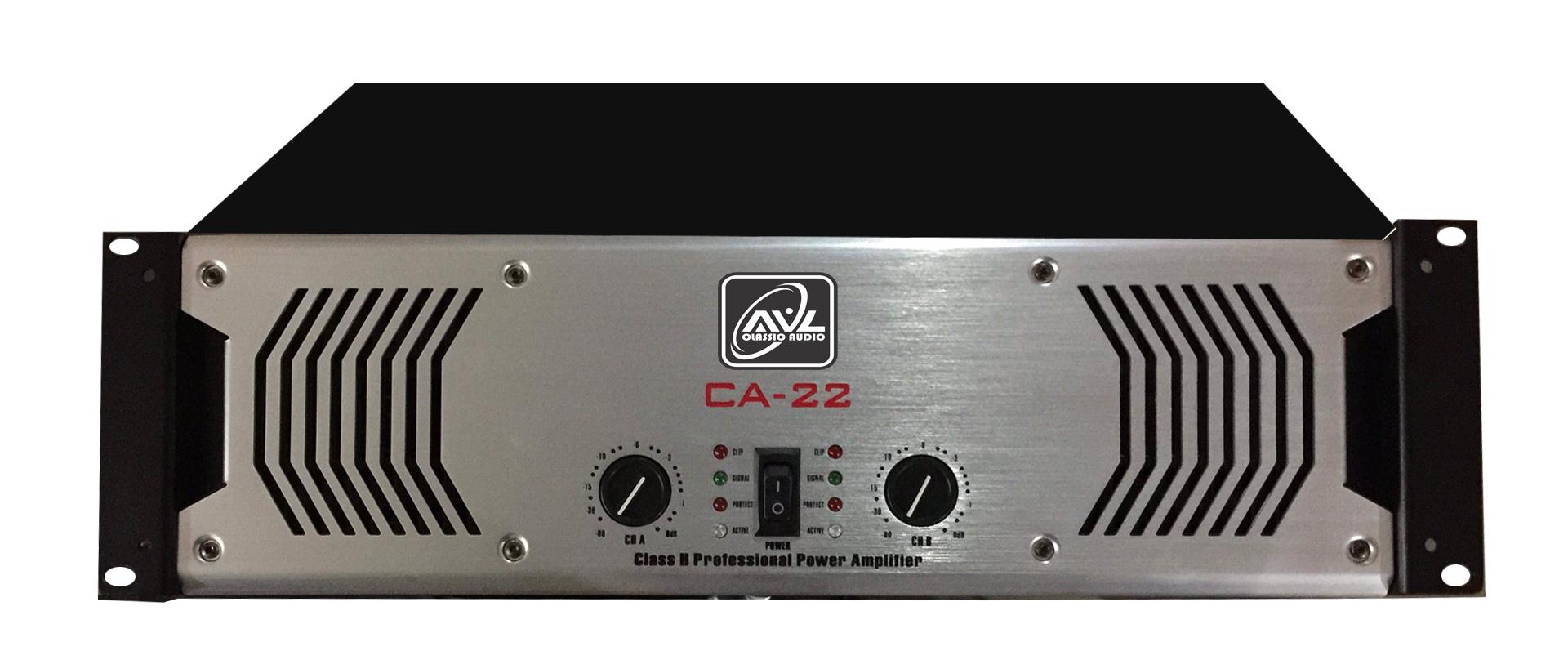 Cục đẩy công suất chuyên dụng cho loa siêu trầm AVL - CA22