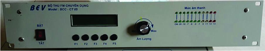 Đầu thu Radio chuyên dụng BEV