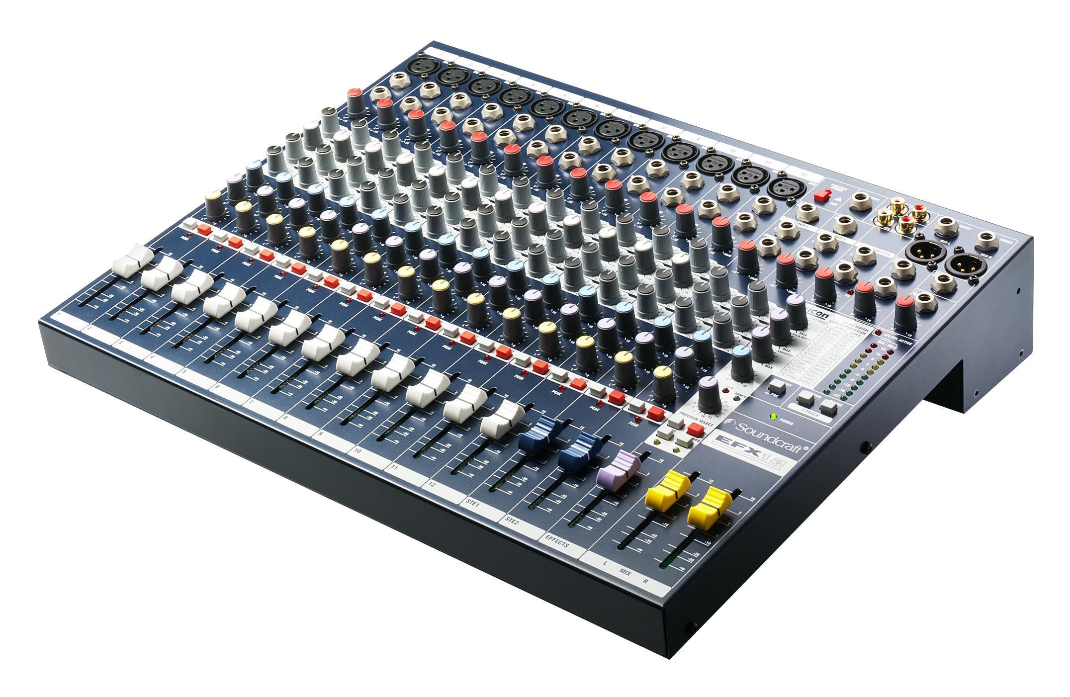 Bàn mixer Soundcraft EFX 12