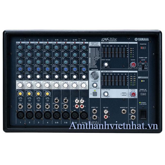 Mixer kèm công suất YAMAHA EMX312SC