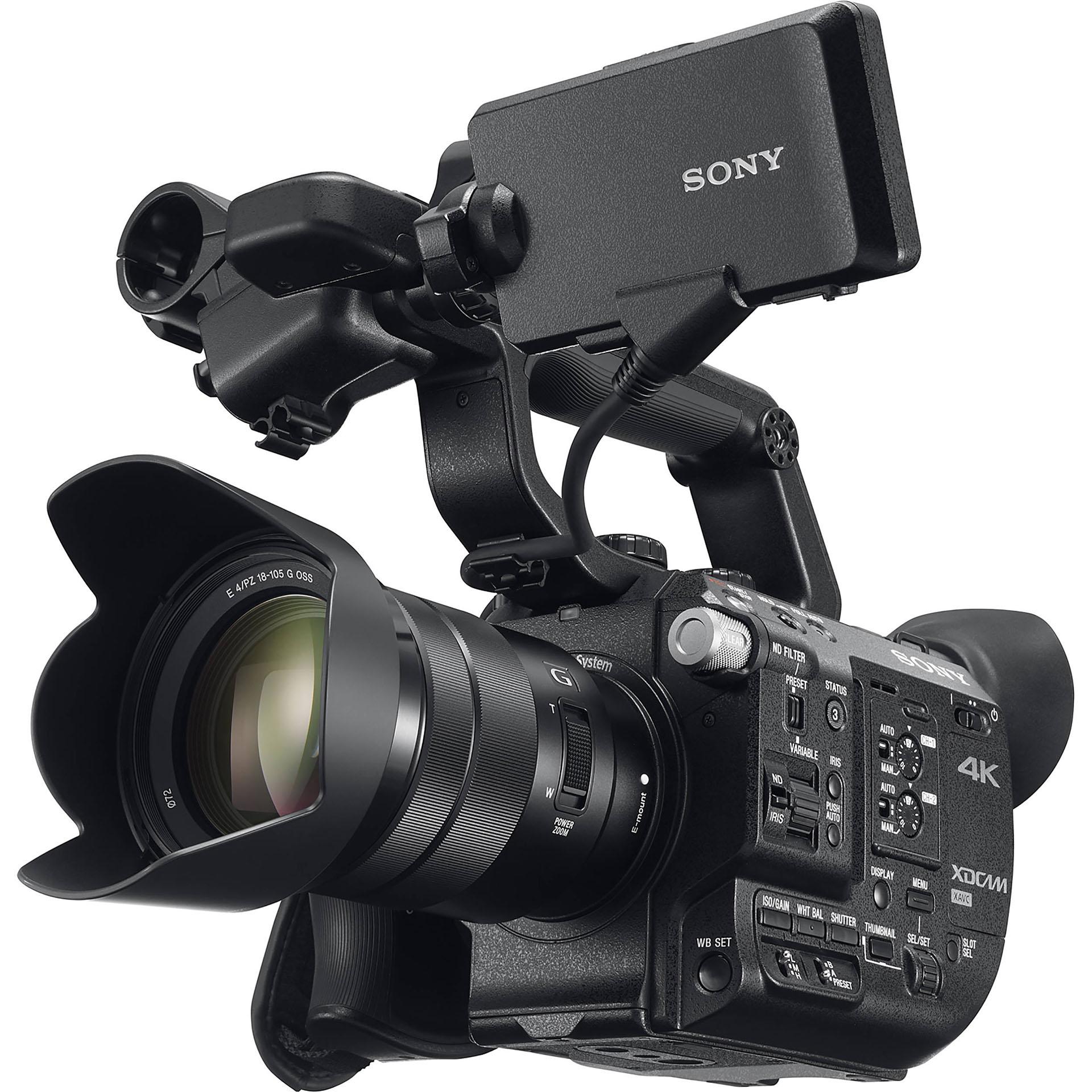 Máy quay chuyên dụng + phụ kiện đi kèm máy quay Sony PXW FS5K XDCAM