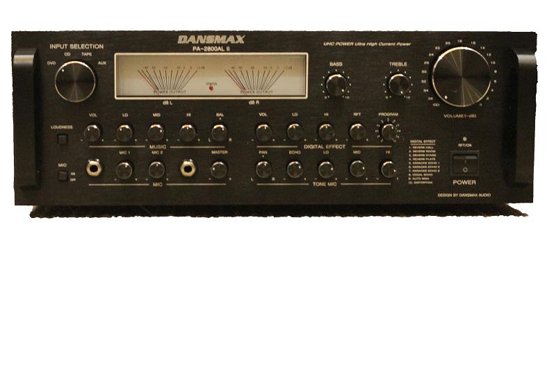 Amply nghe nhạc cao cấp PA - 2800AL II