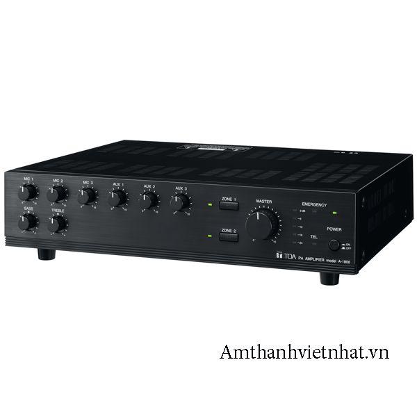 Tăng âm truyền thanh liền Mixer Toa A-1706