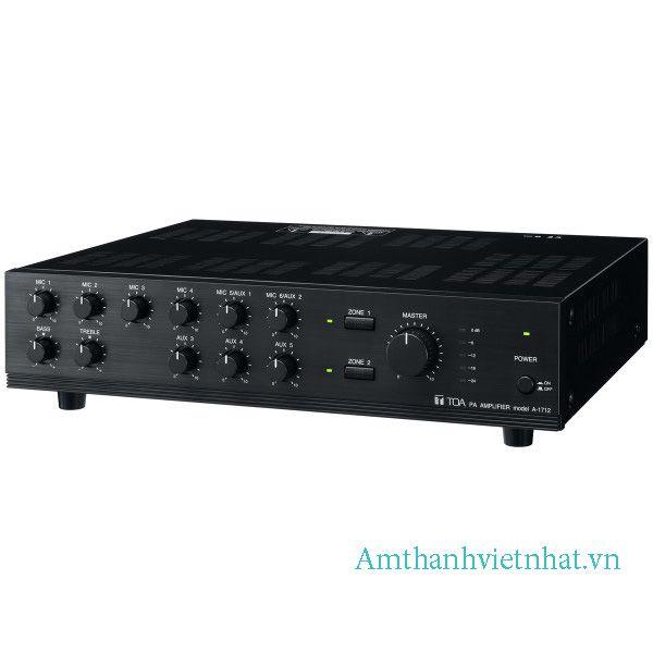 Tăng âm truyền thanh liền Mixer TOA A-1724
