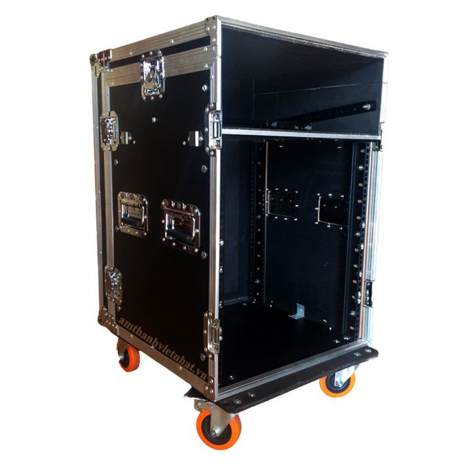Tủ thiết bị âm thanh 16U liền Mixer