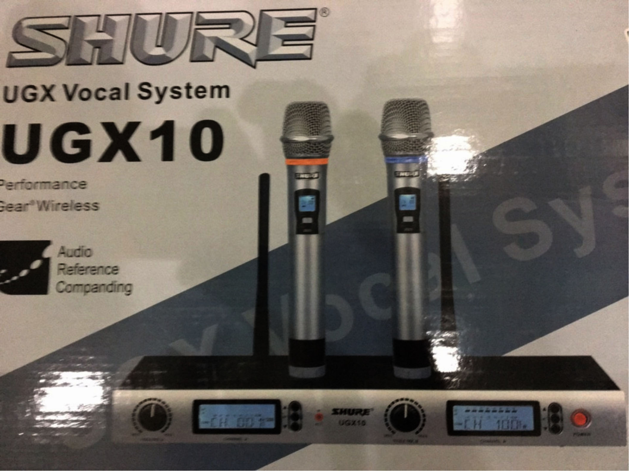 Micro shure UGX10
