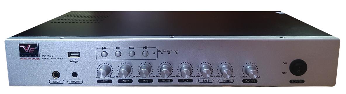 Amply thông báo và phát nhạc VE audio