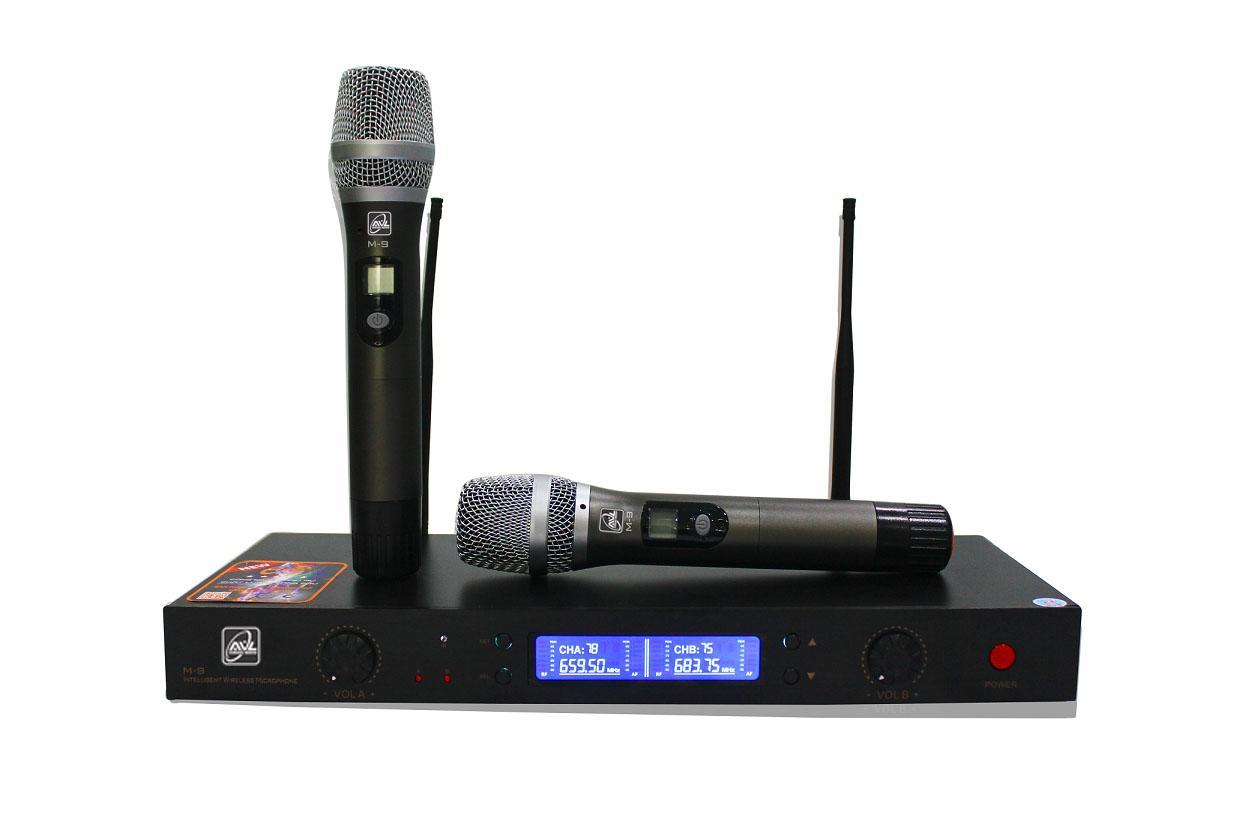 Micro không dây cầm tay tần số UHE AVL M9