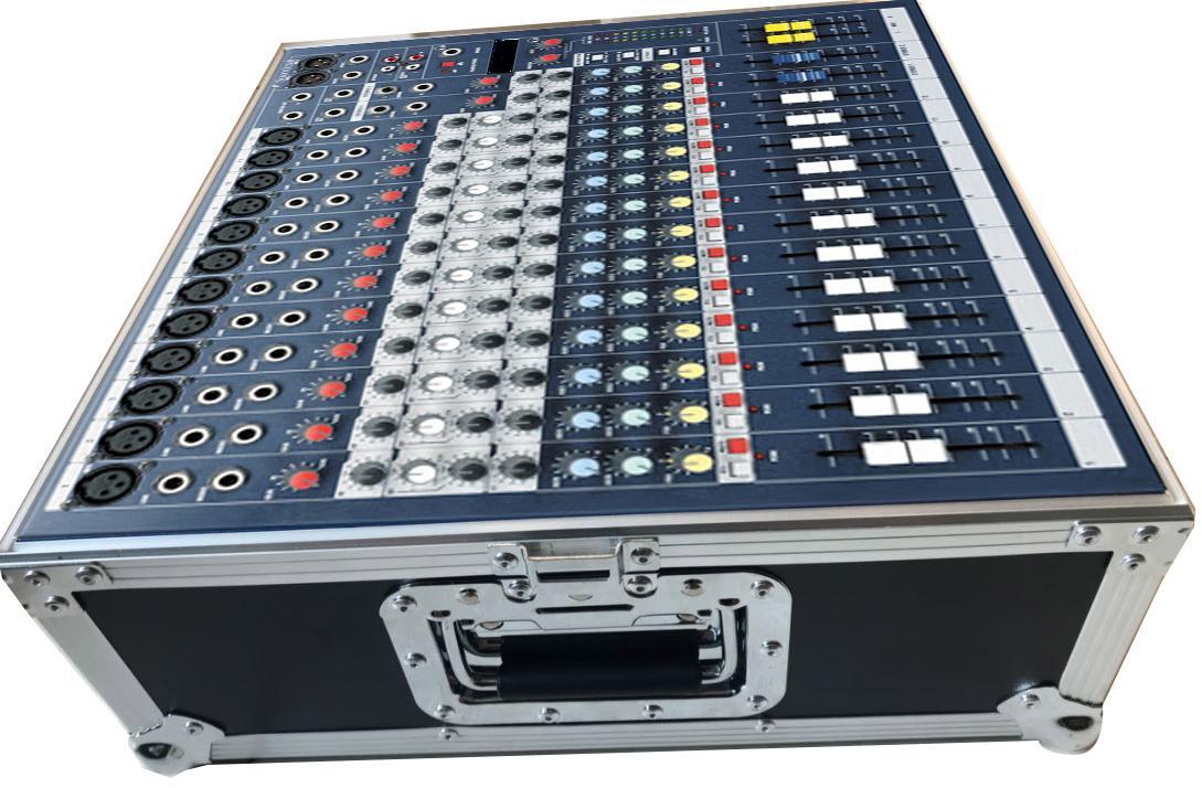 Bàn trộn âm liền bộ tạo Effects, EQ + thùng đựng AVL SMX-1200