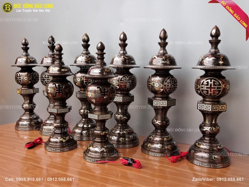bán đèn thờ bằng đồng