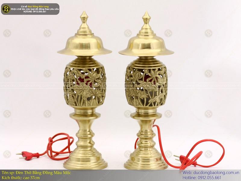 bán đèn thờ bằng đồng thau