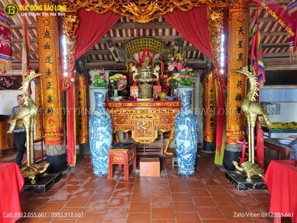 hạc thờ Phật, Tam Bảo