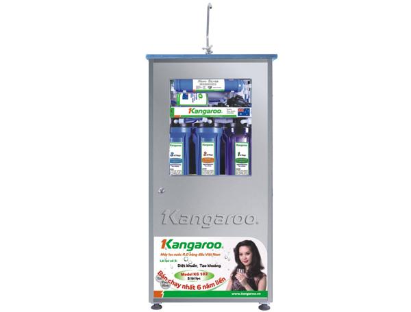 Máy lọc nước Kangaroo 5 lõi KG102 (Tủ inox)