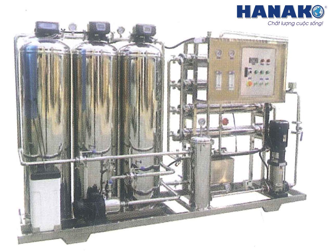 Thi công lắp đặt máy lọc nước chung cư