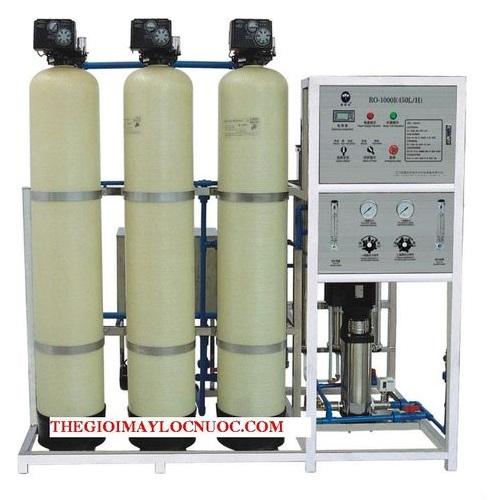 Dây chuyền lọc nước tinh khiết RO 1000 L/H