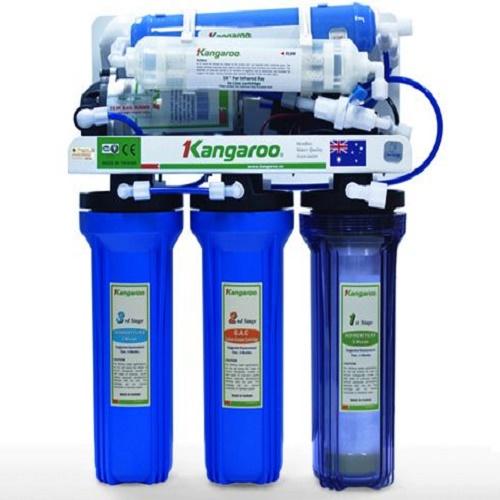 Máy lọc nước Kangaroo 9 lõi KG109 (Tủ inox)
