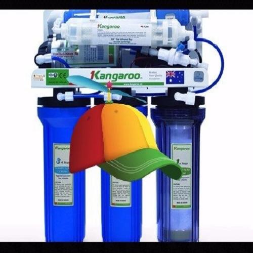 Máy lọc nước Kangaroo 8 lõi KG108 (Tủ inox)
