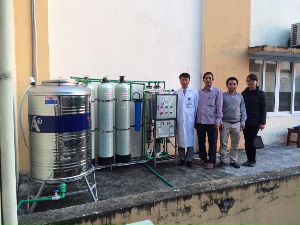 Máy lọc nước cho Bệnh viện