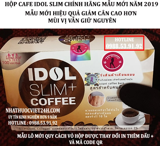 COMBO 3 HỘP CAFE GIẢM CÂN THÁI LAN