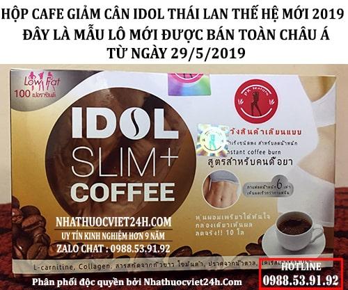COMBO 6 HỘP CAFE GIẢM CÂN THÁI LAN