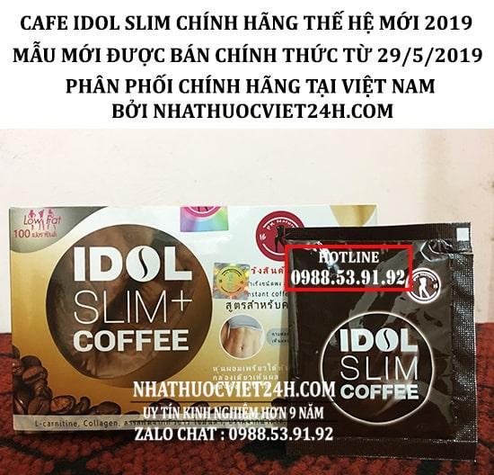 CAFE IDOL SLIM THÁI LAN NHẬP KHẨU ĐỘC QUYỀN VIỆT NAM