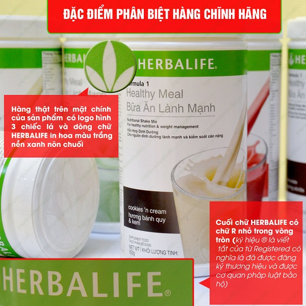 Herbalife Healthy Meal F1