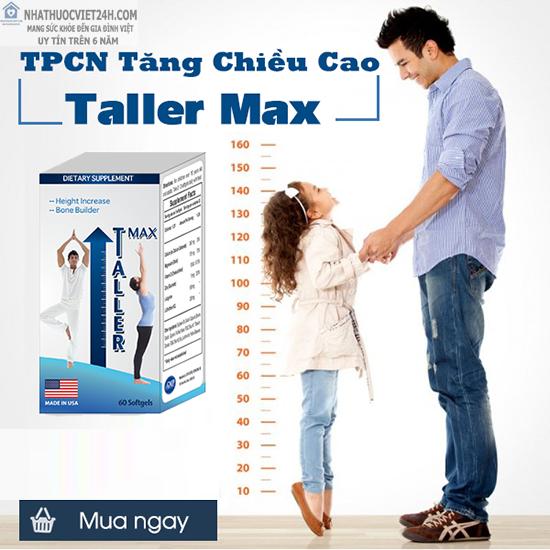 TPCN HỖ TRỢ TĂNG CHIỀU CAO TALLER MAX USA