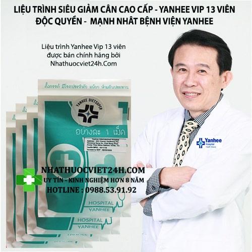 REVIEW THUỐC GIẢM CÂN YANHEE