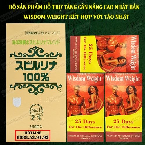 COMBO BỘ TĂNG CÂN NÂNG CAO NHẬT BẢN LIÊU TRÌNH 3 THÁNG