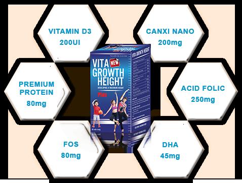 TĂNG CHIỀU CAO VITA GROWTH HEIGHT