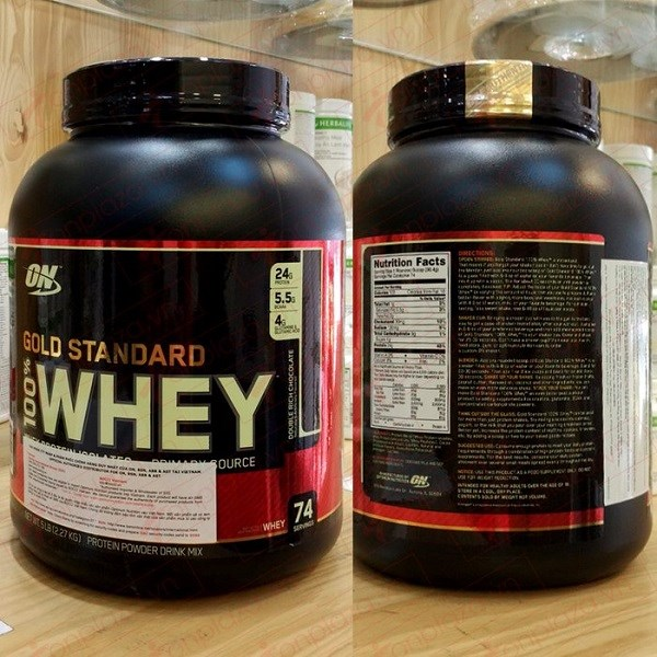 WHEY GOLD STANDARD 5LBS (2.3KG)