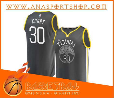 Ao bong ro Golden State Warriors den vang, Áo bóng rổ Golden State Warriors đen vàng