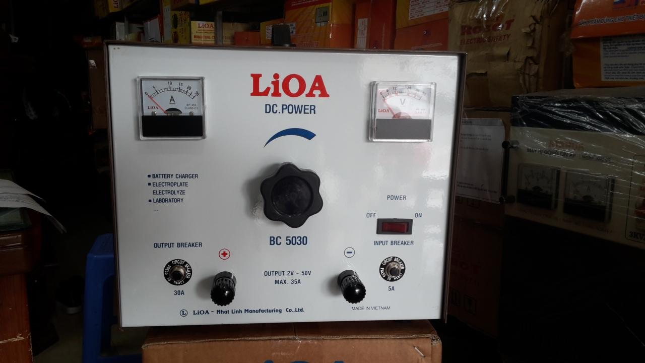 Máy Nạp Ắc Quy LiOA BC5030
