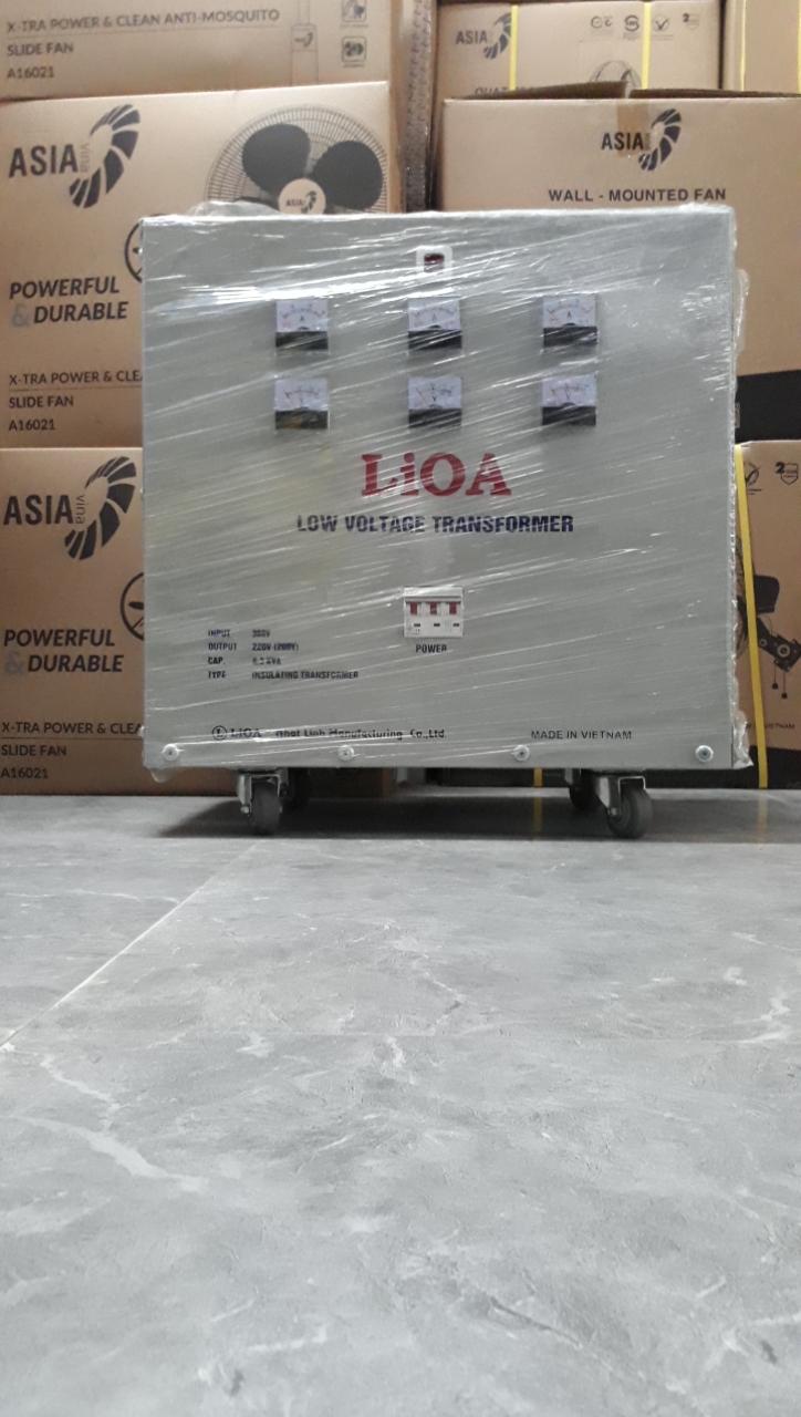 Biến Áp Đổi Nguồn Hạ Áp 3 Pha 6.3kva LiOA 3K630M2DH5YC (loại Cách Ly)