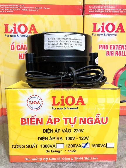 Biến Áp LiOA DN 1200VA